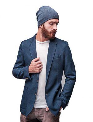 کت با رنگ آبی