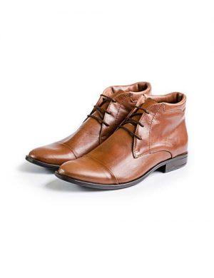 کفش قهواه ای