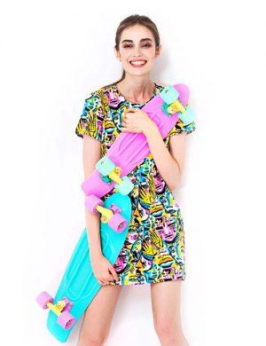 طراحی فصل بهاری لباس
